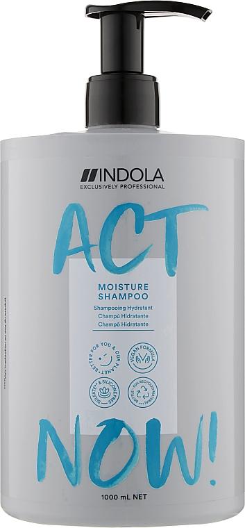 Шампунь увлажняющий для сухих волос - Indola Act Now! Moisture Shampoo