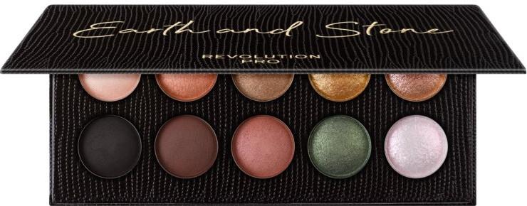 Палетка теней для век, 10 оттенков - Revolution Pro Colour Focus Palette