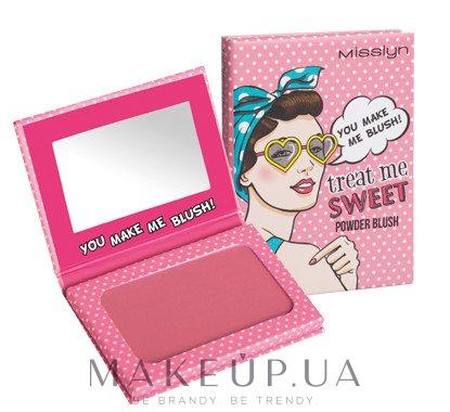 Румяна для лица - Misslyn Treat Me Sweet! Powder Blush — фото 16
