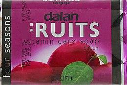 """Духи, Парфюмерия, косметика Туалетное мыло """"Слива"""" - Dalan Fruits Soap"""
