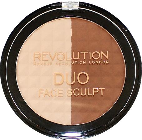 Пудра для контурирования лица - Makeup Revolution Duo Face Sculpt