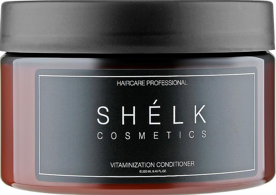 Бальзам витаминизирующий для жирных волос - Shelk Cosmetics Vitaminization Conditioner
