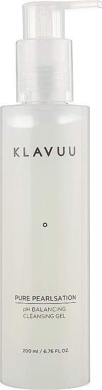 Непенящийся гель для умывания - Klavuu Pure Pearlsation Ph Balancing Cleansing Gel