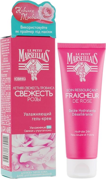 """Увлажняющий гель-крем для лица """"Свежесть Розы"""" - Le Petit Marseillais"""