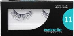 Духи, Парфюмерия, косметика Накладные ресницы 3011, средние - Nastelle Eyelashes