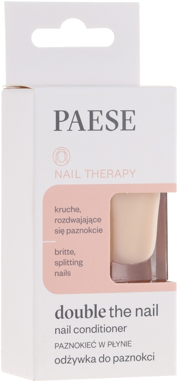 "Уход-Лечение для ногтей ""Защита и лечение"" - Paese Dauble the Nail"