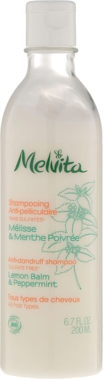 Шампунь от перхоти - Melvita Hair Care Shampoo Anti-Pelliculaire
