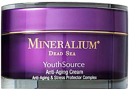 Духи, Парфюмерия, косметика Крем против старения кожи для лица - Mineralium Youth Source Anti-Aging Cream