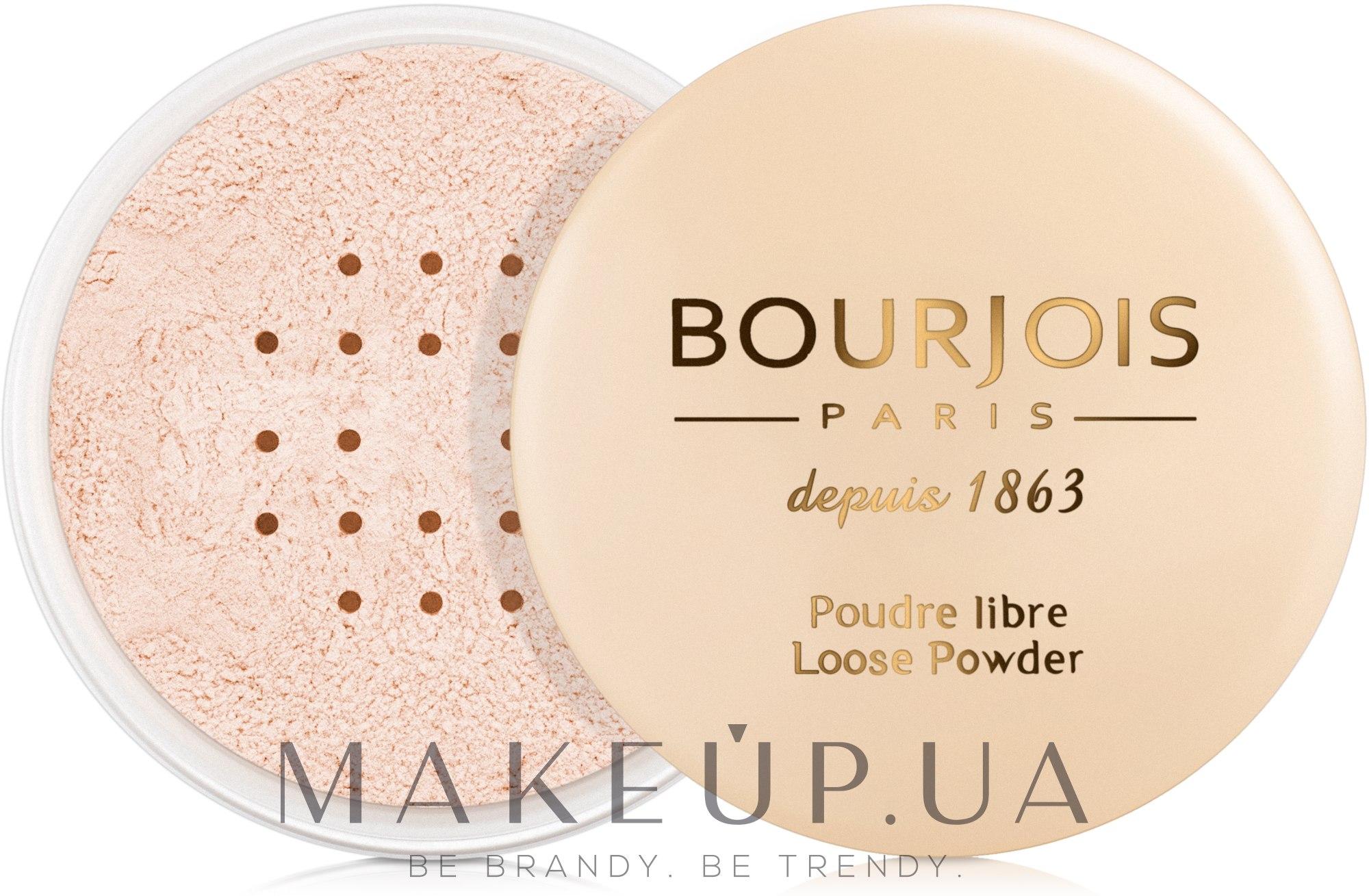 Рассыпчатая пудра - Bourjois Poudre Libre — фото 02 - Rosy