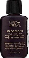 Духи, Парфюмерия, косметика Артериальная кровь в брызгающей бутылке - Mehron Stage Blood Bright Arterial