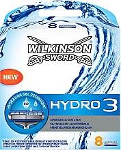 Духи, Парфюмерия, косметика Сменные кассеты для бритья, 8шт - Wilkinson Sword Hydro 3