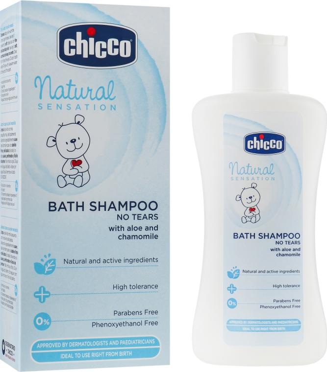 Шампунь-пена для купания - Chicco Natural Sensation  — фото N1