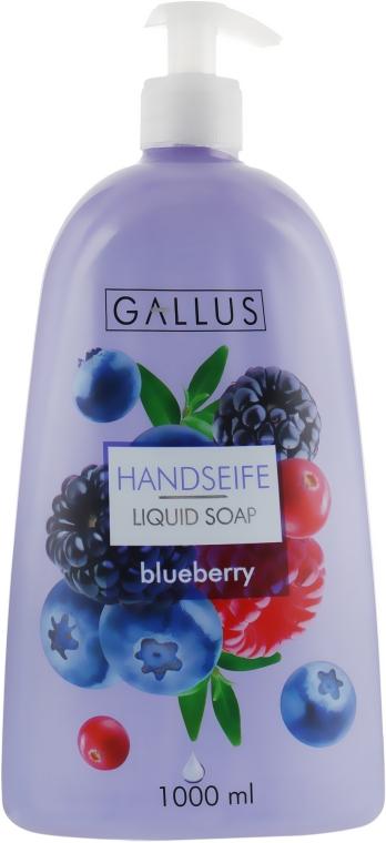 """Жидкое мыло для рук """"Черника"""" - Gallus Soap"""