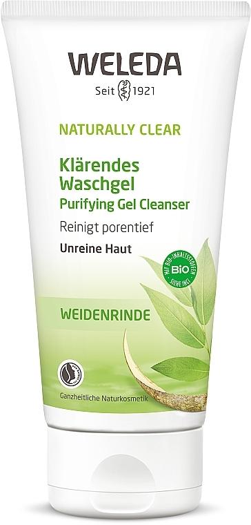 Гель для умывания с себорегулирующим эффектом - Weleda Naturally Clear Purifying Gel Cleanser