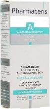 Крем-помощь для раздражённой и покрасневшей кожи - Pharmaceris A Ultra-Sensilium Relief Cream for Red, Irritated Skin — фото N3