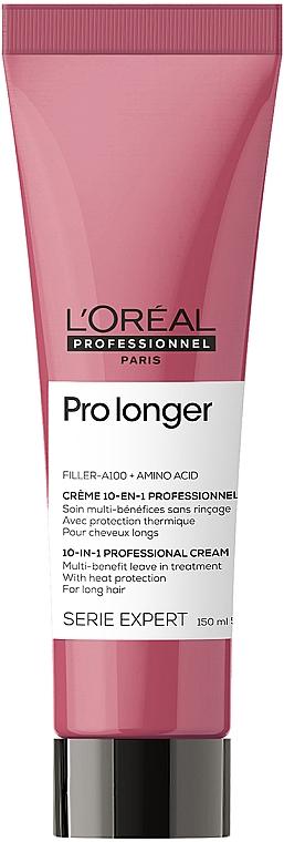 Термозащитный крем для восстановления плотности поверхности волос по длине - L'Oreal Professionnel Pro Longer Renewing Cream