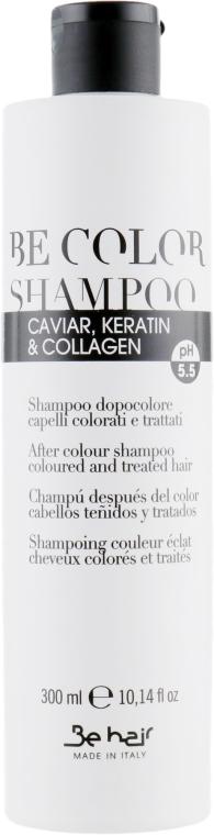 Шампунь для цветных волос - Be Hair Be Color Shampoo Keratin & Collagen