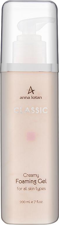 Кремоподібний пінистий гель - Anna Lotan Classic Creamy Foaming — фото N1