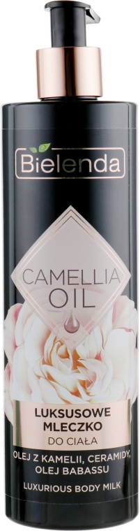 Молочко для тела - Bielenda Camellia Oil Luxurious Body Milk