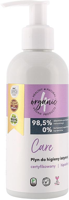 Средство для интимной гигиены, с помпой - 4Organic Care Intimate Gel