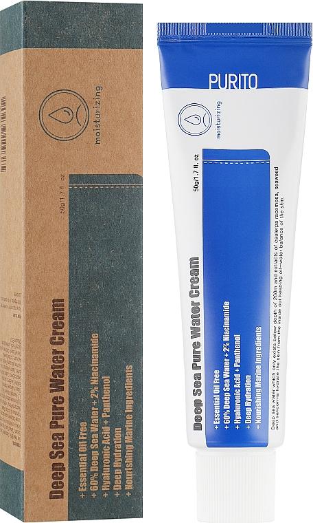 Увлажняющий крем с морской водой - Purito Deep Sea Pure Water Cream