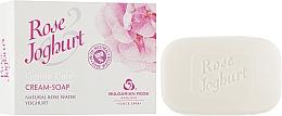 Духи, Парфюмерия, косметика Крем-мыло - Bulgarska Rosa Joghurt Soap