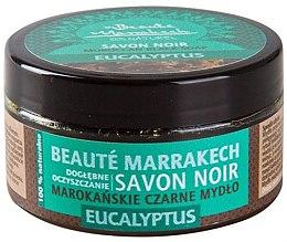 """Духи, Парфюмерия, косметика Натуральное черное мыло """"Эвкалипт"""" - Beaute Marrakech Savon Noir Moroccan Black Soap"""