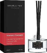 """Духи, Парфюмерия, косметика Аромадиффузор для дома """"Strawberry Champagne"""" - Double Ter"""