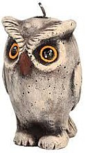 Духи, Парфюмерия, косметика Ароматическая свеча, 9х16 см, пугач - Artman Owl