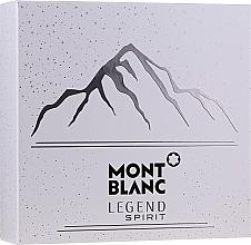Духи, Парфюмерия, косметика Montblanc Legend Spirit - Набор (edt/100ml + ash/balm/100ml + sh/gel/100ml)