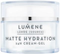 Духи, Парфюмерия, косметика Крем-гель для лица - Lumene Lähde Matte Hydration 24h Cream-Gel