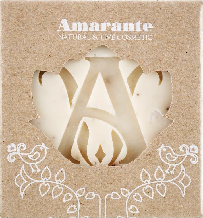 Мыло ручной работы Амаранте с зернами черники - Лавка мыльных сокровищ