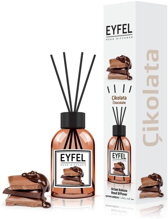 """Аромадиффузор """"Шоколад"""" - Eyfel Perfume Reed Diffuser Chocolate"""