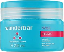 Духи, Парфюмерия, косметика Маска-увлажнение для нормальных и сухих волос - Wunderbar Moisture Mask