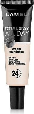 Матовый тональный крем для лица - Lamel Professional Total Stay All Day Cream Foundation