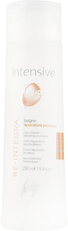 Восстанавливающий протеиновый шампунь - Vitality's Intensive Aqua Re-Integra High-Protein Shampoo