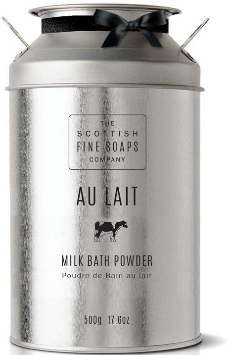 Молочная пудра для ванны - Scottish Fine Soaps Au Lait Milk Bath Powder