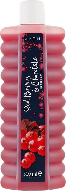 """Пена для ванной """"Красные ягоды и шоколад"""" - Avon"""