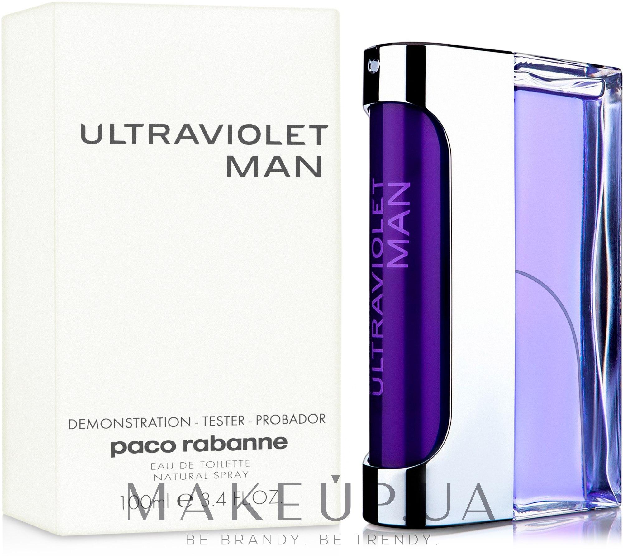 Paco Rabanne Ultraviolet Man - Туалетная вода (тестер) — фото 100ml