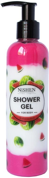 """Гель для душа """"Арбуз"""" - Nishen Shower Gel"""
