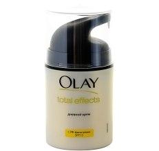 Духи, Парфюмерия, косметика Увлажняющий дневной крем с УФ-фильтрами - Olay Total Effects 7 In One Day Cream SPF 15