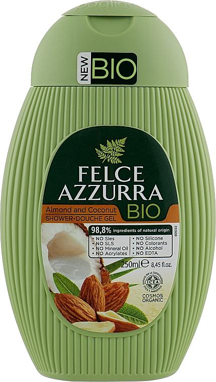 """Гель для душа """"Миндаль и Кокос"""" - Felce Azzurra BIO Almond&Coconut Shower Gel"""