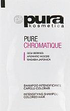 Духи, Парфюмерия, косметика Шампунь для окрашенных волос - Pura Kosmetica Chromatique Shampoo (пробник)