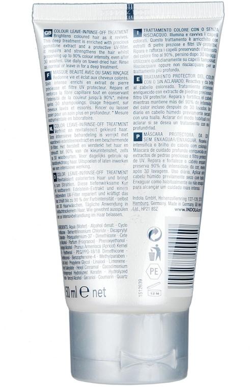 Маска для фарбованого волосся - Indola Innova Color Leave-In Treatment — фото N2