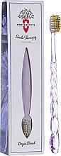 """Духи, Парфюмерия, косметика Зубная щетка """"Degas Brush"""", фиолетовая - Montcarotte Toothbrush Soft"""