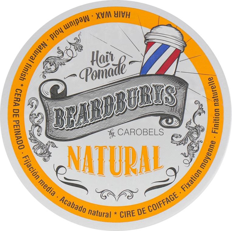 Помада для волос для волос кремообразная классическая - Beardburys Natural Wax