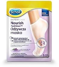 Духи, Парфюмерия, косметика Маска для ног с лавандовым маслом - Scholl Expert Care Foot Mask