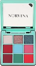 Духи, Парфюмерия, косметика Палетка теней для век - Anastasia Beverly Hills Norvina Pro Pigment Mini №3