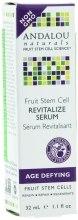 Восстанавливающая сыворотка со стволовыми клетками фруктов c Ресвератролом Q10 - Andalou Naturals Age-Defying Fruit Stem Cell Revitalize Serum — фото N3