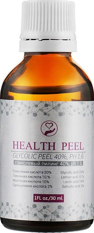 Гликолевый пилинг 40 % - Health Peel Glycolic Peel, pH 1.6